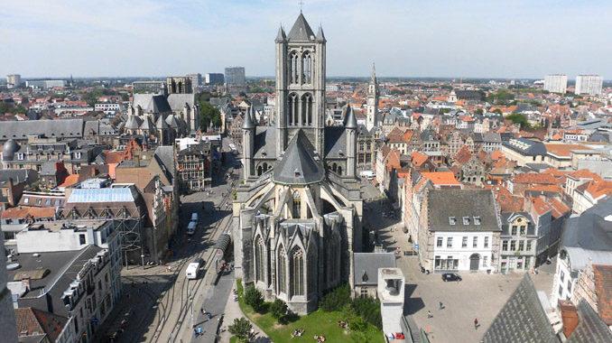 ベルギーゲント展望台