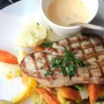 ベルギースタイルがとっても美味しい マグロのステーキ