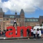 オランダの首都、アムステルダムへ