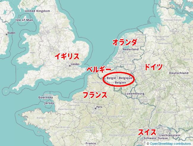 map-belgium