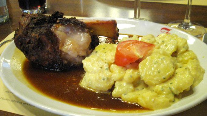 スイスの肉料理