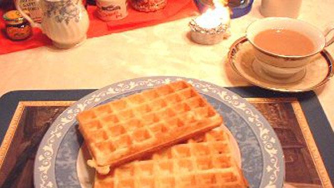 ベルギーワッフルのレシピ