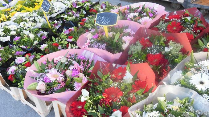 ベルギー・ゲントの花市場
